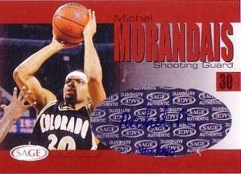 2004 SAGE Autographs #A21 Michel Morandais/770