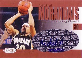 2004 SAGE Autographs Bronze #A21 Michel Morandais/550