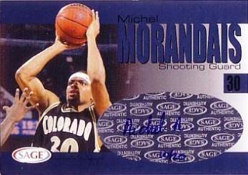 2004 SAGE Autographs Player Proofs #A21 Michel Morandais