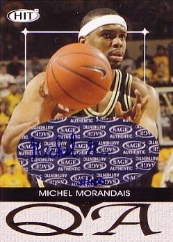 2004 SAGE HIT Q&A Autographs #Q30 Michel Morandais