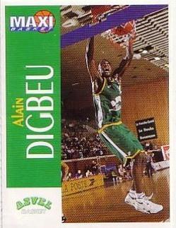 1995 Maxi Basket Alain Digbeu - Sticker # NNO