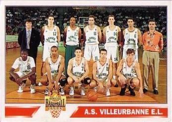 1995 Panini A.S. Villeurbanne E.L # 153