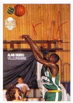 1996 Panini Alain Digbeu # 154 (Hand Auto)