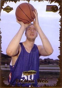 1999 Collector's Edge Rookie Rage Gold #44 Frederic Weis