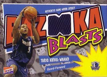2003-04 Bazooka Blasts #TAW Tariq Abdul-Wahad D