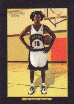 Topps Turkey Red #217 Mickael Gelabale - Black