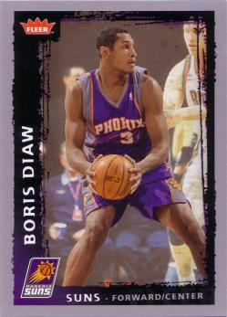 Fleer #141 Boris Diaw