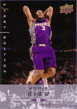Upper Deck First Edition #148 Boris Diaw