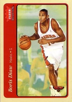 Fleer Tradition Boris Diaw 2