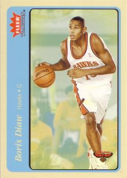 Fleer Tradition Boris Diaw 2 - Blue