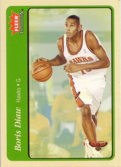 Fleer Tradition Boris Diaw 2 - Green