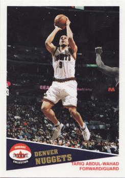 2001-02 Fleer Shoebox Footprints #1 Tariq Abdul-Wahad