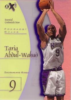 1997-98 E-X2001 Essential Credentials Now #66 Tariq Abdul-Wahad/66