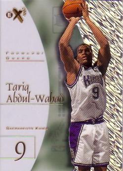 1997-98 E-X2001 #66 Tariq Abdul-Wahad RC