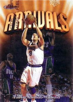1997-98 Finest #207 Tariq Abdul-Wahad B
