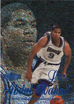 1997-98 Flair Showcase Legacy Collection Row 1 #41 Tariq Abdul-Wahad
