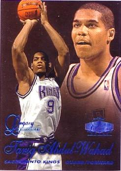 1997-98 Flair Showcase Legacy Collection Row 2 #41 Tariq Abdul-Wahad