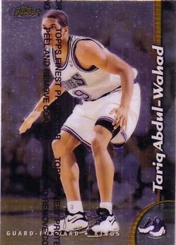1998-99 Finest #139 Tariq Abdul-Wahad