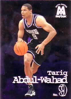 1998-99 SkyBox Molten Metal #100 Tariq Abdul-Wahad