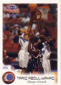 1999-00 Fleer Focus #6 Tariq Abdul-Wahad