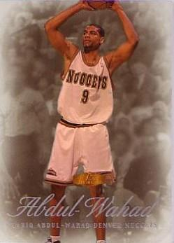 1999-00 Flair Showcase Legacy Collection #84 Tariq Abdul-Wahad
