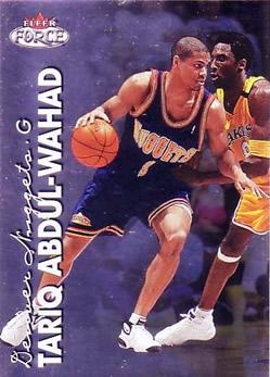 1999-00 Fleer Force #29 Tariq Abdul-Wahad
