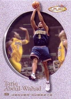 2000-01 Fleer Futures #44 Tariq Abdul-Wahad