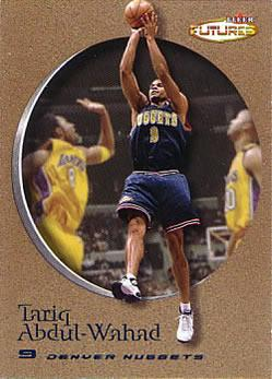 2000-01 Fleer Futures Copper #44 Tariq Abdul-Wahad