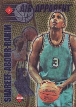 1997 Collector's Edge Air Apparent #3 Olivier St.Jean/Shareef Abdur-Rahim