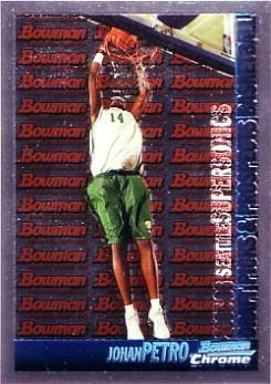 2005-06 Bowman Chrome #136 Johan Petro RC