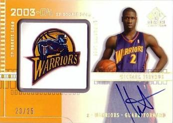 SP Signature Edition Mickael Pietrus A111 Autographed Parallel