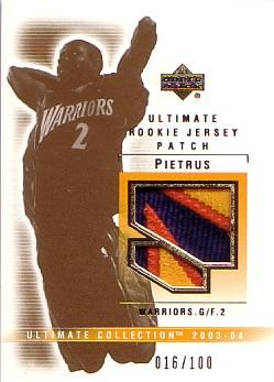 Ultimate Collection Mickael Pietrus MP Patches