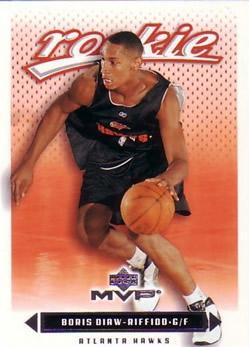 2003-04 Upper Deck MVP #221 Boris Diaw-Riffiod RC