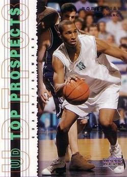 2003-04 UD Top Prospects #17 Boris Diaw