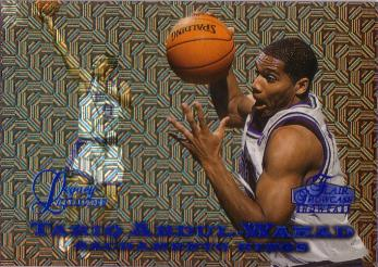 1997-98 Flair Showcase Legacy Collection Row 0 #41 Tariq Abdul-Wahad