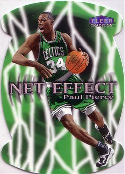 1999-00 Fleer Net Effect #8 Paul Pierce