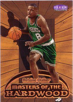 1999-00 Fleer Masters of the Hardwood #14 Antoine Walker