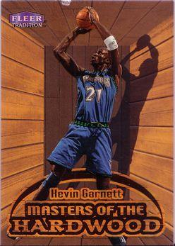 1999-00 Fleer Masters of the Hardwood #5 Kevin Garnett
