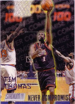 1997-98 Stadium Club Never Compromise #NC14 Tim Thomas