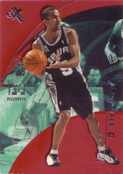 2001-02 E-X Essential Credentials Now #125 Tony Parker/65