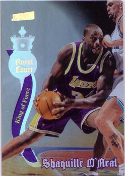 1997-98 Stadium Club Royal Court #RC7 Shaquille O'Neal
