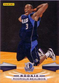 Panini #325 Rodrigue Beaubois