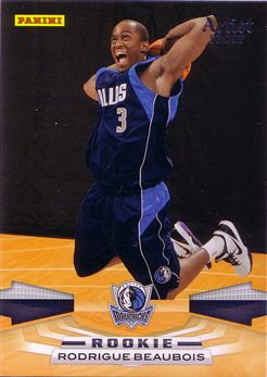 Panini #325 Rodrigue Beaubois - Artists Proof