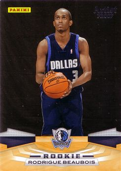 Panini #375 Rodrigue Beaubois - Artists Proof