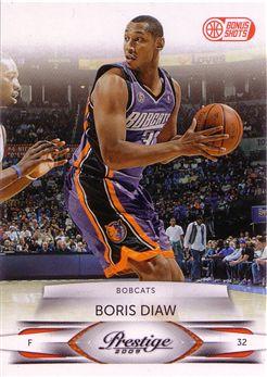 Prestige #10 Boris Diaw - Bonus Shots Orange