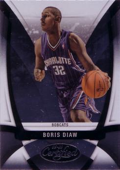 2009-10 Certified #130 Boris Diaw