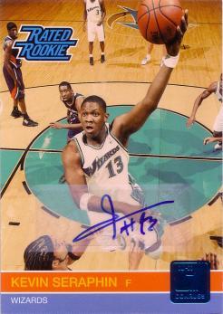 2010-11 Donruss Signatures #244 Kevin Seraphin/399