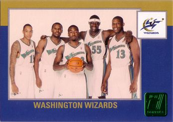 Donruss #277 - Washington Wizards Team Checklists - Emerald