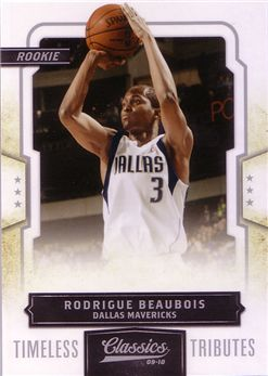 Classics Timeless Tributes Silver #182 Rodrigue Beaubois