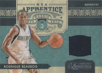 2009-10 Timeless Treasures NBA Apprentice Materials #23 Rodrigue Beaubois